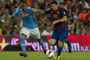 Barça negocjuje sparing z Napoli