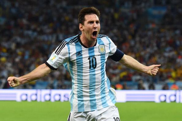 Messi daje trzy punkty Argentynie