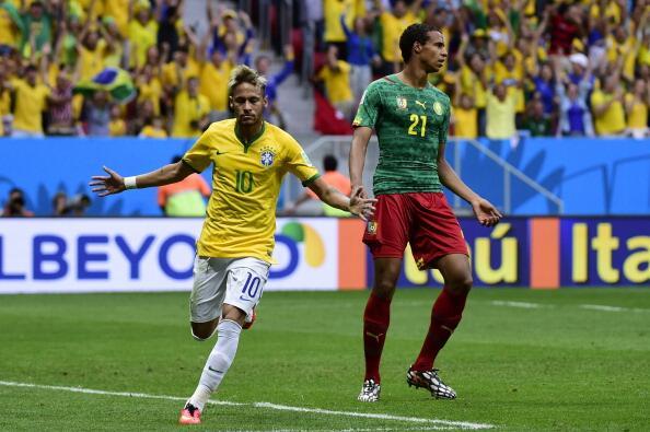 Show Neymara i wygrana Brazylii