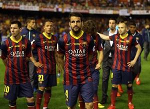 FC Barcelona druga w rankingu UEFA
