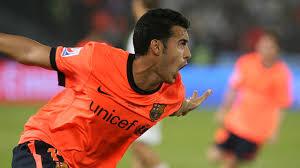 10 lat Pedro w barwach Barcelony
