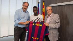 Diawandou Diagne wzmocni Barçę B