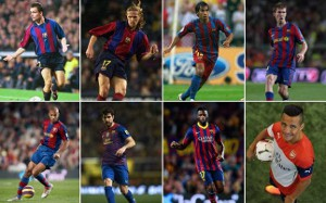 Transfery na linii Barcelona-Arsenal