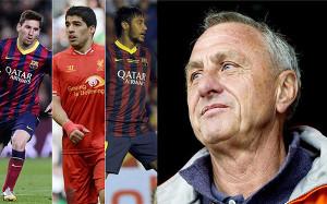 Cruyff krytykuje transfer Suáreza
