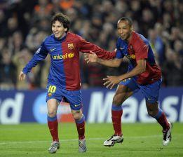 Henry: Messi ma więcej talentu niż Cristiano