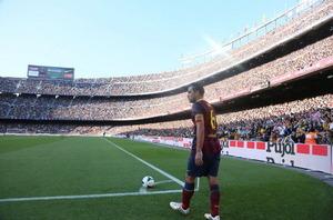Camp Nou trzecim najczęściej odwiedzanym stadionem