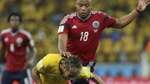Zuniga, Neymar