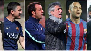 Byli piłkarze Barcelony w sztabie szkoleniowym
