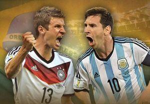 Niemcy – Argentyna; Składy