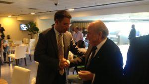 Spotkanie Bartomeu z Blatterem