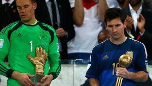 Messi najlepszym piłkarzem Mundialu