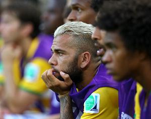 Dani Alves: Przegraliśmy w sześć minut