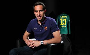 Claudio Bravo – pierwszy wywiad dla Barçy