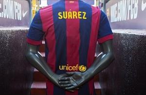 Jaki numer na koszulce będzie nosił Suárez?