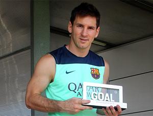Czy Messi zdobędzie tytuł Goal 50?