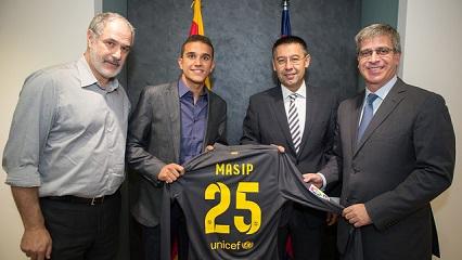 Jordi Masip podpisał kontrakt do 2017 roku