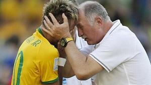 Scolari: Nie sądzę, że Neymar może zagrać we wtorek