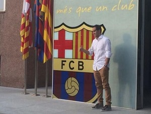 Claudio Bravo w Barcelonie