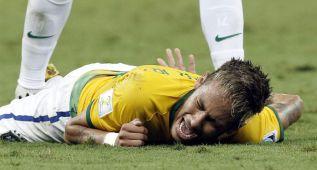 Neymar nie miał czucia w nogach po faulu Zúñigi