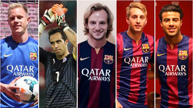 """Transferowa """"waga"""" FC Barcelony"""