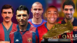 Piątka ze Złotymi Butami, która trafiła na Camp Nou