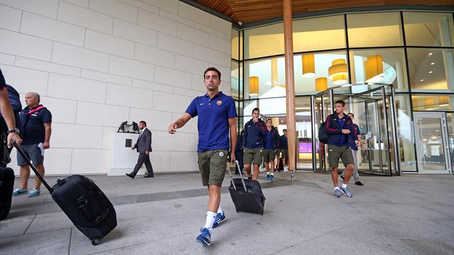 Piłkarze są już w Nicei