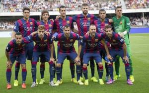 11 wychowanków w składzie Barcelony