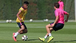 Neymar ukończył cały trening z grupą