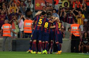 Barça pierwszym liderem ligi w sezonie 2014/15