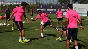 Neymar wrócił do treningów z grupą