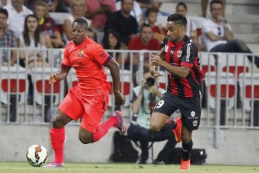 Remis w drugim meczu presezonu: OGC Nice 1:1 FC Barcelona
