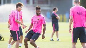 Song i Adriano wracają do treningów