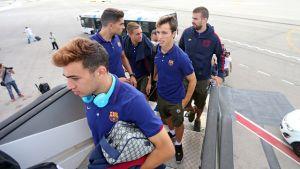 Piłkarze już w Genewie