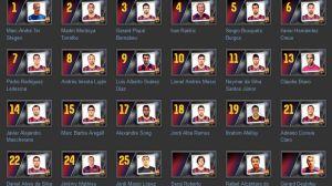 Numery piłkarzy na przyszły sezon