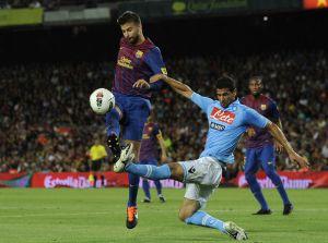SSC Napoli – FC Barcelona; Składy