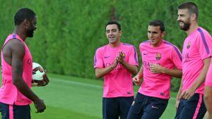 Xavi i Neymar z pozwoleniem na grę