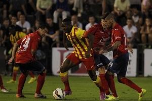 Barça B znów przegrywa z Olot w towarzyskim spotkaniu w presezonie