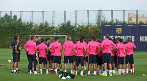 24 graczy wzięło udział w popołudniowym treningu