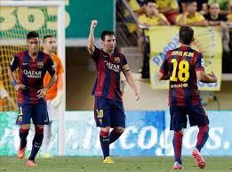 Messi zapewnia Barçy pozycję lidera