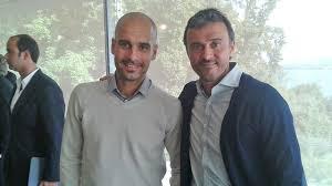 Pep Guardiola i Luis Enrique