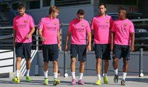 Busquets, Pedro, Alba i Munir wrócili do treningów