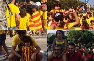 Piqué z synem świętował Narodowy Dzień Katalonii