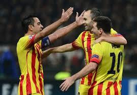 Xavi, Messi i Iniesta nie grali razem od maja