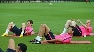 Trening po meczu z Levante