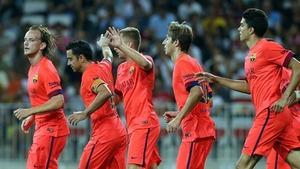 Barcelona po raz pierwszy wystąpi w szkarłatnych koszulkach