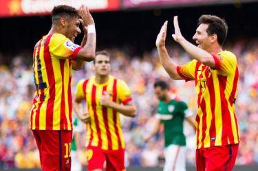Zwycięstwo w senyerze; FC Barcelona 2:0 Athletic Club