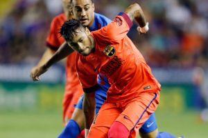 Neymar z lekkim urazem