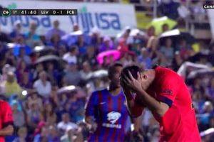 Messi przestrzelił rzut karny