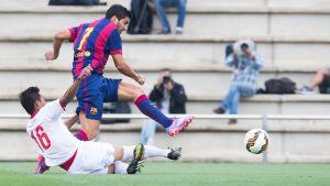 Suárez i Vermaelen strzelają dla rezerw