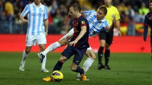 Málaga CF – FC Barcelona; Składy